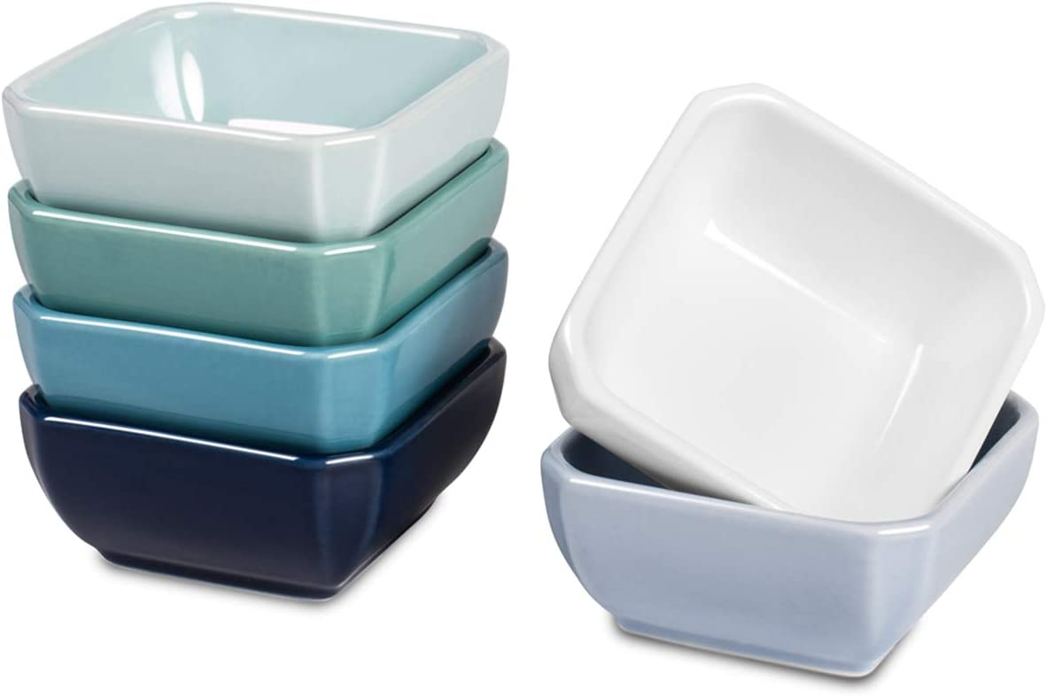 Delling 3 Bargain Directly managed store Oz Ceramic Dip Dipping B Bowls Soy Sauce - Set