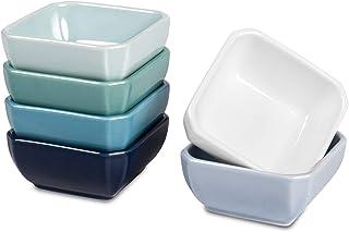 Delling 3 Oz Ceramic Dip/Dipping Bowls Set - Dipping Soy Sau