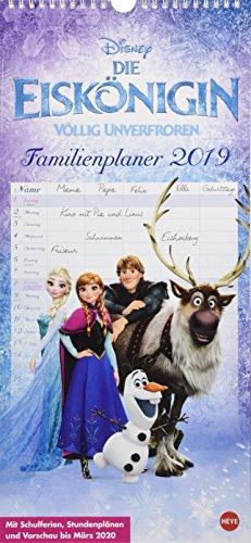 Eiskönigin Familienplaner - Kalender 2019
