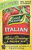 Good Seasons Italian Salad Dressing & Recipe Mix 0.7oz, 10 Pouches