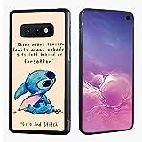 VONDER Galaxy S10e Case,Cute Lilo and Stitch Hybrid Silicone Bumper Phone Case Cover for Samsung Galaxy S10e S10 Lite Back