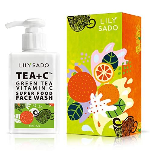 LILY SADO TEA+C Green Tea and Vitamin C Face Cleanser –...