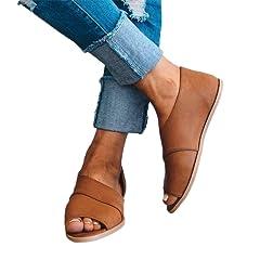 f312274688b Peep toe mule - Casual Women s Shoes