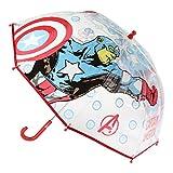 CERDÁ LIFE'S LITTLE MOMENTS- Paraguas Transparente de The Avengers - Licencia Oficial Marvel, Color (2400000548)