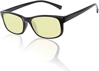YPSMJLL Blue Blocking Glasses Can Be Clipped In Glasses Blu-ray Blocking Glasses Game Machine Glasses Anti-glare Protection Suitable For Men And Women,Yellow