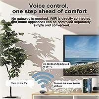 Honelife IRリモートコントロールスマートホームWiFiリモートコントローラーSmart Life APPコントロールAlexa Google Assistant音声コントロールと互換性があります-1#GW