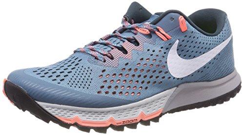 Nike W Air Zoom Terra Kiger 4, Zapatillas de Running para Mujer, Turquesa (Noise Aquawhitedeep Jungle 401), 44 EU
