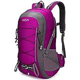 g4free 35l zaino da trekking con parapioggia zaino da trekking leggero zaino da viaggio impermeabile per spalla borsa da viaggio per uomo donna