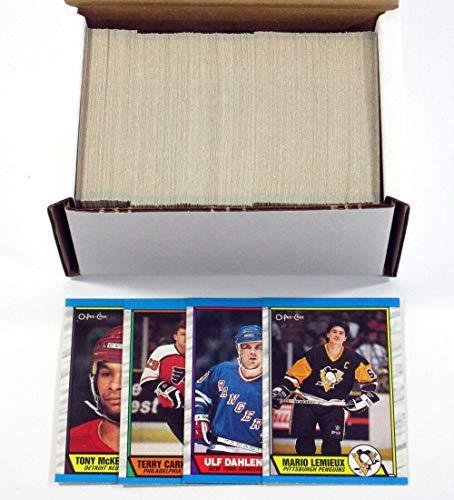 1989-90 OPC O-Pee-Chee Hockey Set (330) Nm/Mt Joe Sakic RC Brian Leetch RC - Hockey Cards