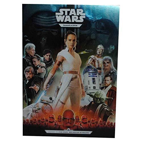 WIZUALS Star Wars Kaufland Sammelkarten Album einzelne Karten incl. Gartis Sticker (Album LEER)