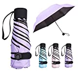 Mini Umbrella, NASUM Pocket Umbrella Folding Umbrella, Lightweight Compact Umbrella Folding Travel Umbrella...