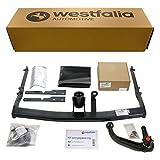 Westfalia abnehmbare Anhängerkupplung – AHK Anhängerkupplung für Ford S-Max – Im Set mit 13-poligem fahrzeugspezifischem Westfalia Elektrosatz