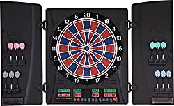 Dartona Electronic Dartboard CB160 Cabinett - Tournament disc with 33 games and 160 variants