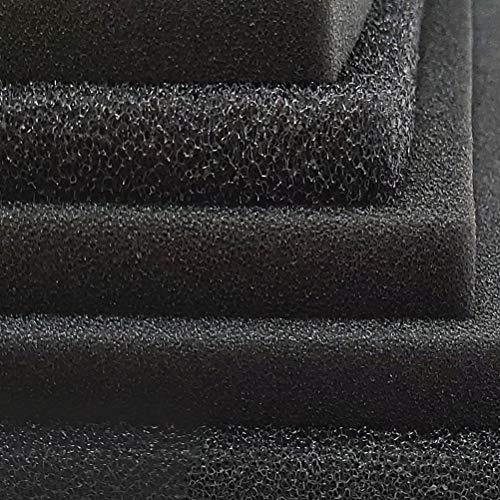 Beizhou Company Esponja de Filtro bioquímico de carbón Activado para acuarios   Varios tamaños Disponibles (Tamaño: 50 * 12 * 2 cm/Apertura: 1-2 mm)