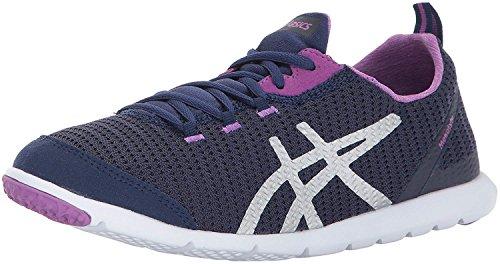 ASICS Womens Metrolyte Walking Shoe, Black Regatta Blue, 7.5 Medium US