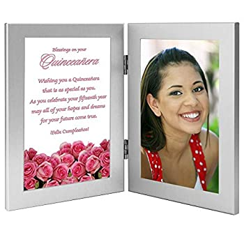 Quinceanera Gift 15th Birthday Card Frame Add Photo