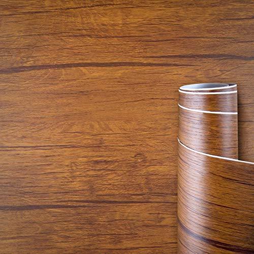 AWNIC Klebefolie Möbel Holzoptik Vintage Eiche Möbelfolie Holz für Küchenschränke Schrankfolien Selbstklebend Küchenfolie Schränke Küche Wasserfest 40X300cm