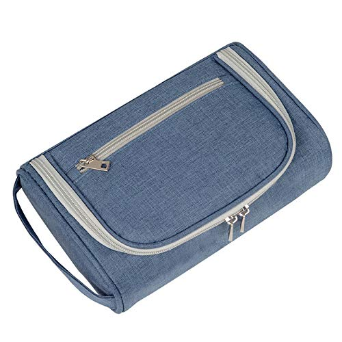 Travel Cosmetic Organizer Bag Wash Bag Men's Business Travel Portable Toiletries Set Shampoo Bath Bath Hanging Bags D-DenimBlue