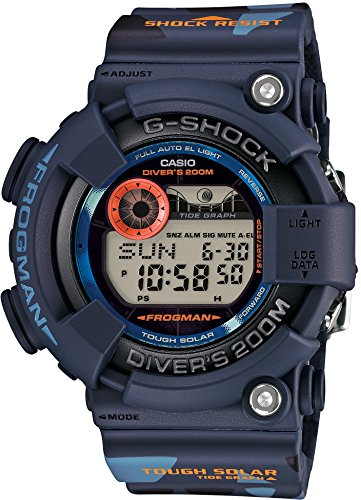 Casio G-Shock Men in Camouflage Frogman Digital Quartz Men's...