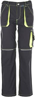 Planam 2322066 Highline Pantalon Taille 66 Ardoise//Noir//Rouge