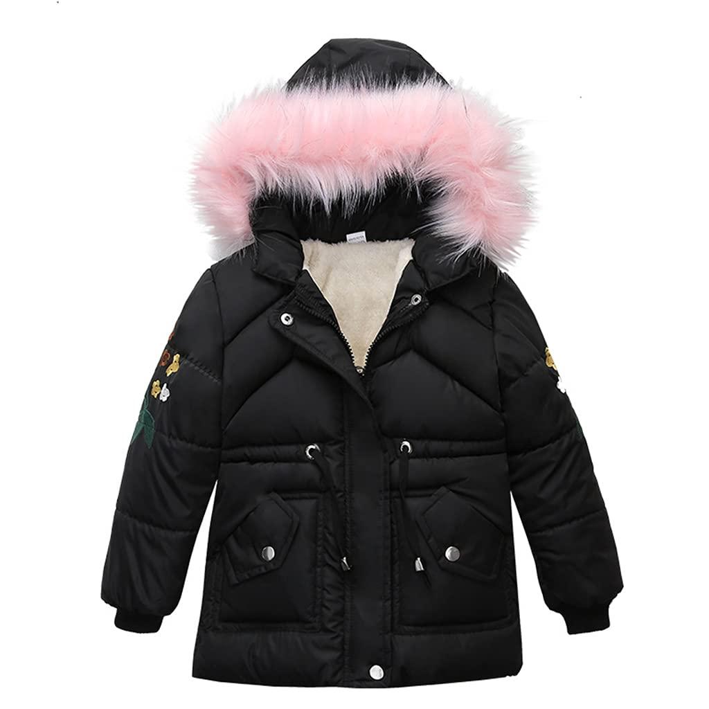 Kids Winter Hooded unisex Ranking TOP1 Jacket Long Outfits Girls Coat Outerwear Warm