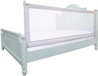 ベッドフェンス, グレー幼児ベッドレールガード - 子供/赤ちゃん/子供のための携帯用ベッドのガードレール、キング/クイーンサイズベッドに最適 - 身長83cm (サイズ さいず : 190cm)