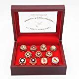 st 'Louis 'Cardinals World'Series 11-time Rings Set with Box Gifts for Mens Women Boys Kids Youth Championship Ring