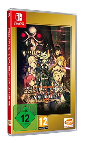 Sword Art Online: Fatal Bullet Complete Edition - Nintendo Switch [Edizione: Germania]