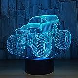 Helles Auto-LKW-Modetischlampensensorlicht als Geschenk des neuen Jahres der Familienkunstverzierung