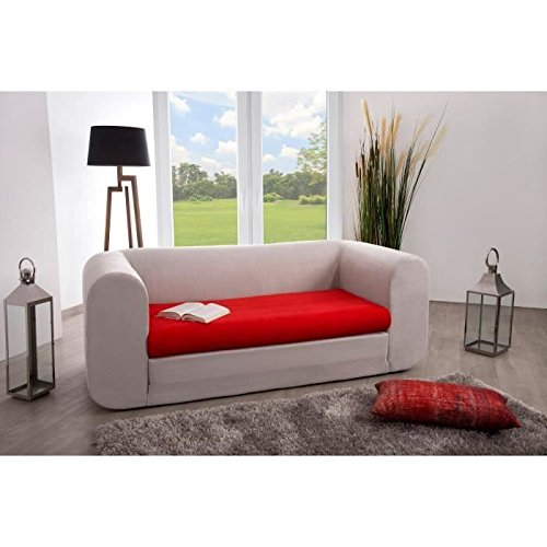 Canapé modulable Rouge