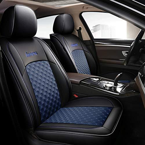 Chemu Fundas de asiento de piel para Dacia Duster Sandero Stepway 2 Lodgy Logan Dokker 2 (azul)