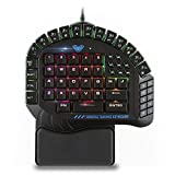 AULA 30 Progammable Keys One Handed Merchanical Gaming Keyboard - RGB...