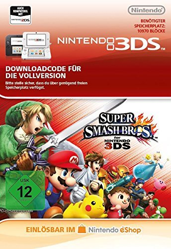 Super Smash Bros [3DS Download Code]
