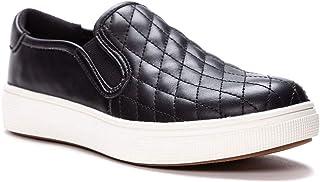 حذاء رياضي نسائي Karly من Propet، أسود، 9 X-واسع