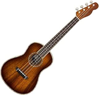 Fender Montecito - Ukelele tenor - Tabaco Sunburst