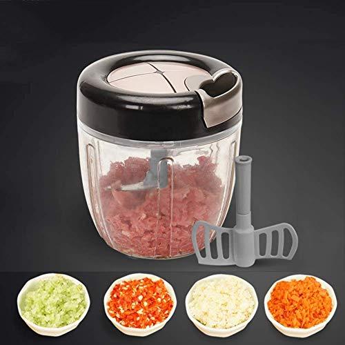 UWY Trituradora de Alimentos, 900 ml, trituradora de Verdura