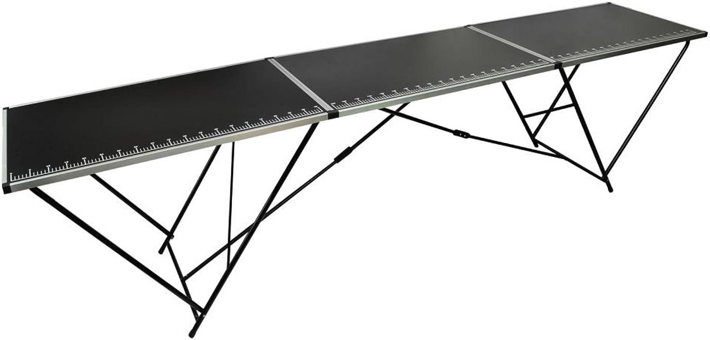 Shengtaieushop Wall Paper einfügen Tisch Aluminium und und und Stahl 3 Faltbar B07G3WRRRW  | Elegant Und Würdevoll  fecab4
