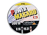 Asari - Power Masaru 300, Color Verde, Talla 0.400 mm