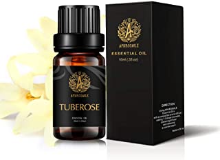 Aromatherapy Tuberose Essential Oil for Diffuser, 100% Pure Tuberose Scented Oil for Humidifier, Therapeutic Grade Essenti...