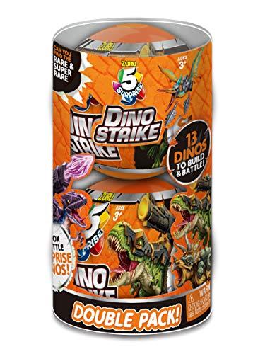 ZURU 5 SURPRISE 7748-S001 Dino Strike Surprise Mystery Battling Collectibles, orange