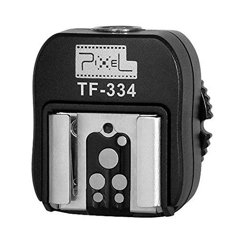 Pixel TF-334 Adaptador de Zapata de Flash con Entrada para conexión a Ordenador Sony para...