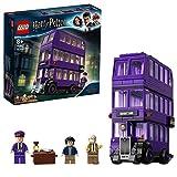 LEGO 75957 Harry Potter Autobús Noctámbulo, Juguete de Construcción del Mágico Bbús de 3 Plantas con 3 Mini Figuras