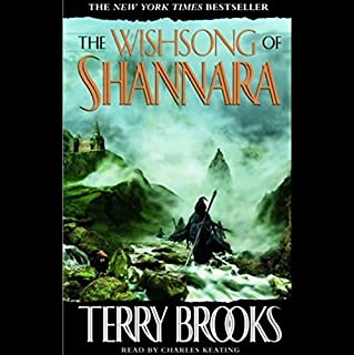 The Wishsong of Shannara audiobook cover art