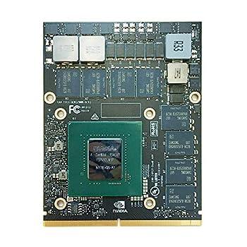 Original 16GB Graphics Video Card GPU Replacement for HP ZBook 17 G3 G4 G5 Dell Precision 7730 7720 7710 Workstation Laptop PC NVIDIA Quadro P5000 GDDR5 MXM VGA Board Repair Parts