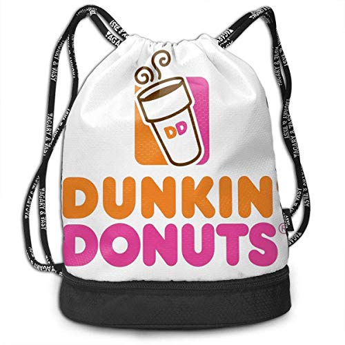 Rucksack mit Kordelzug Dunkin-Donuts Light Travel Knapsack