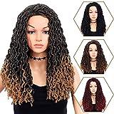 Wigs for Black Women 20' Braided Wigs ,Ombre Light...