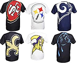 T-shirt of the New Orleans Saints from the NFL Big Logo collection by New Era | Special edition with the exclusive Big Logo design | Officially licensed product of the National Football League Very stylish fan shirt thanks to the large print of the S...
