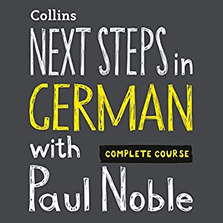 Next Steps in German with Paul Noble - Complete Course     German Made Easy with Your Personal Language Coach              By:                                                                                                                                 Paul Noble                               Narrated by:                                                                                                                                 Paul Noble                      Length: 8 hrs and 26 mins     20 ratings     Overall 4.7
