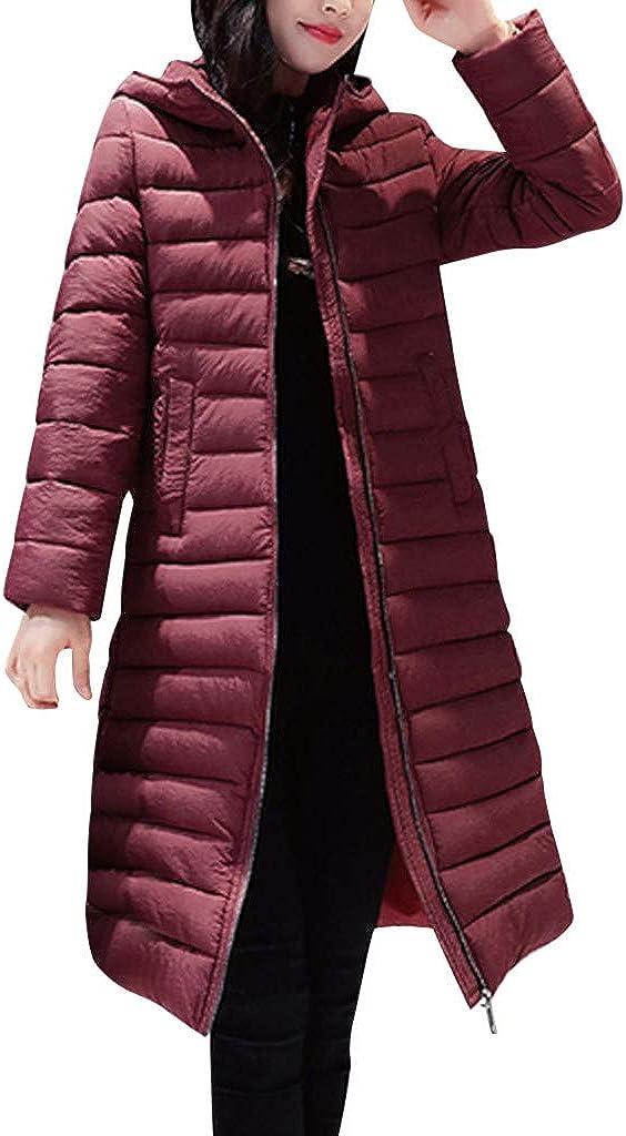 Doric Womens Winter Slim Knee-Length Co Parka Max 77% OFF Hooded Super intense SALE Jacket Long