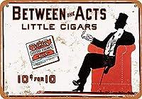 Between the Acts Little Cigars メタルポスター壁画ショップ看板ショップ看板表示板金属板ブリキ看板情報防水装飾レストラン日本食料品店カフェ旅行用品誕生日新年クリスマスパーティーギフト
